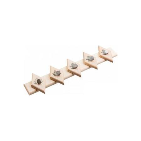 Купить Вешалка Банные штучки с 5 крючками 32310
