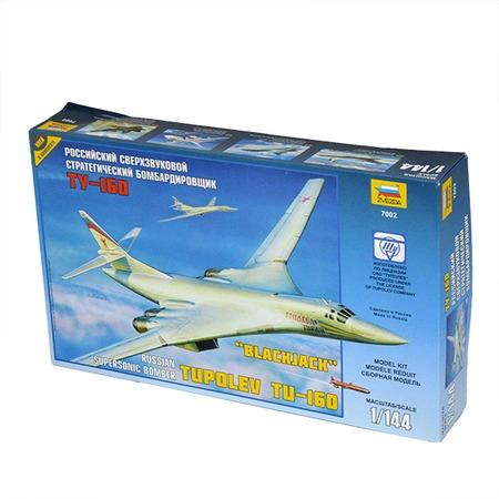 Купить Сборная модель Звезда Самолет «Ту-160»