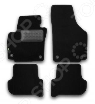 Комплект ковриков в салон автомобиля Klever Skoda Yeti 2009 Standard