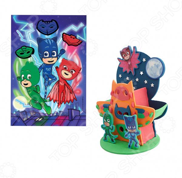 Набор для детского творчества PJ Masks «Герои в масках» всё для лепки герои в масках pj masks набор алетт и ромео