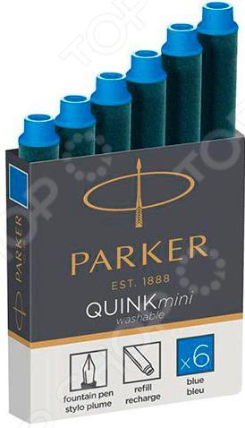 Набор чернильных мини-картриджей Parker 195040