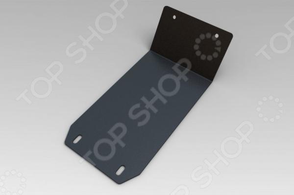 Комплект: защита картера и крепеж NLZ Jeep Wrangler 2007: 3,6 бензин АКПП