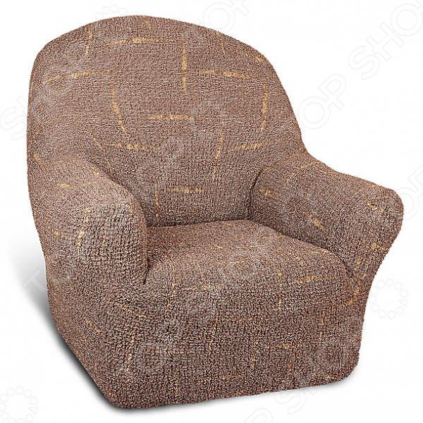 Zakazat.ru: Натяжной чехол на кресло Еврочехол «Виста. Фьюжн»