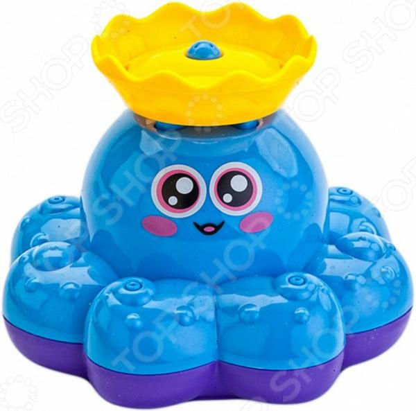 Игрушка для ванны детская Bradex «Фонтан-осьминожка» Игрушка для ванны детская Bradex «Фонтан-осьминожка» /Голубой