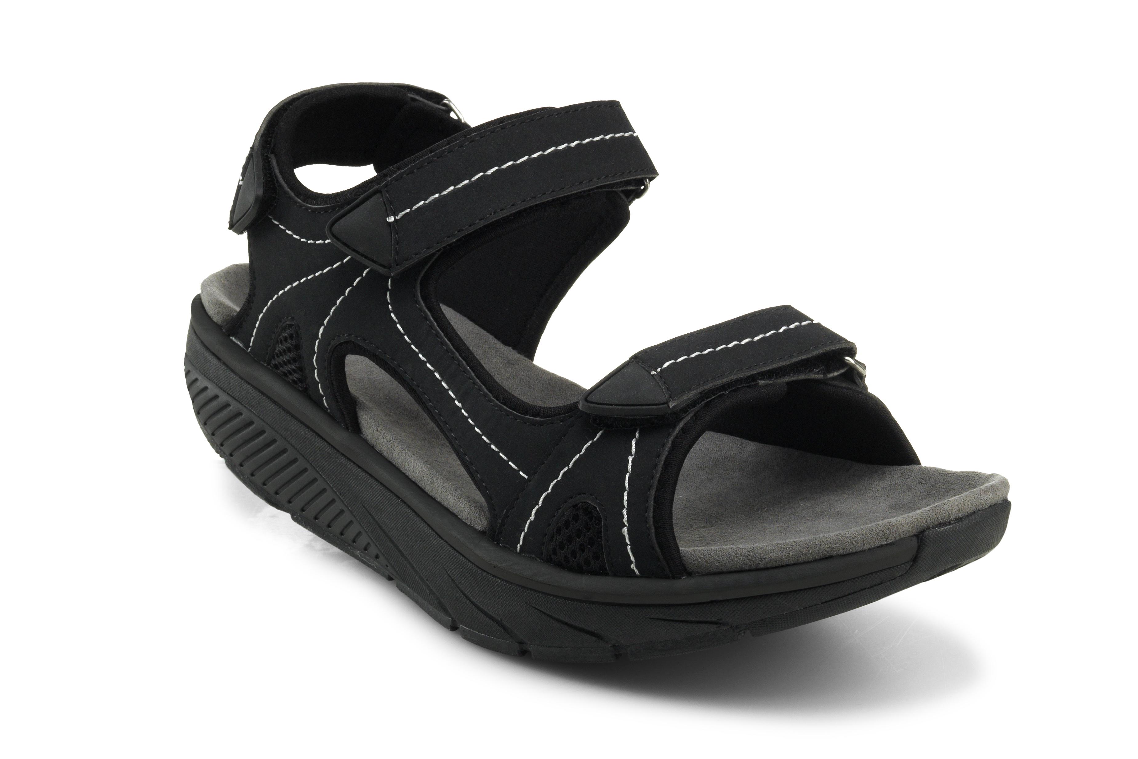Дышащие cандалии мужские Walkmaxx Pure. Цвет: черный 1