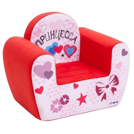 Купить Кресло детское игровое PAREMO «Принцесса». Цвет: коралловый
