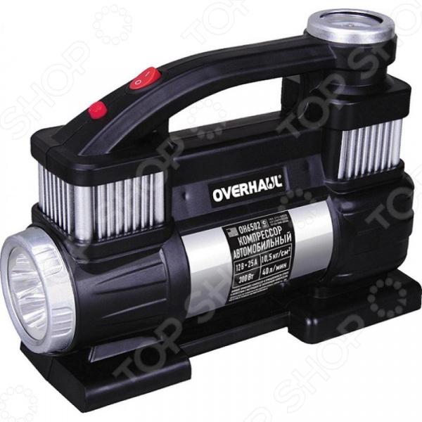 Компрессор автомобильный Overhaul OH 6502 компрессор для шин e74 auto 12v 150 psi