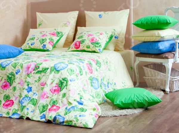 Комплект постельного белья MIRAROSSI Gloria комплект белья mirarossi domenica семейный наволочки 70х70 цвет белый коралловый зеленый