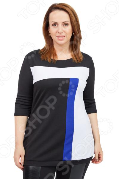 Туника Матекс «Активная дама». Цвет: синий  туника матекс хелен цвет синий