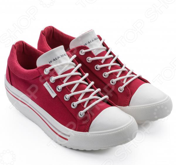 Кеды Walkmaxx Comfort 3.0. Цвет: красный