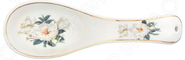 Подставка под ложку Elan Gallery «Белый шиповник» 471300