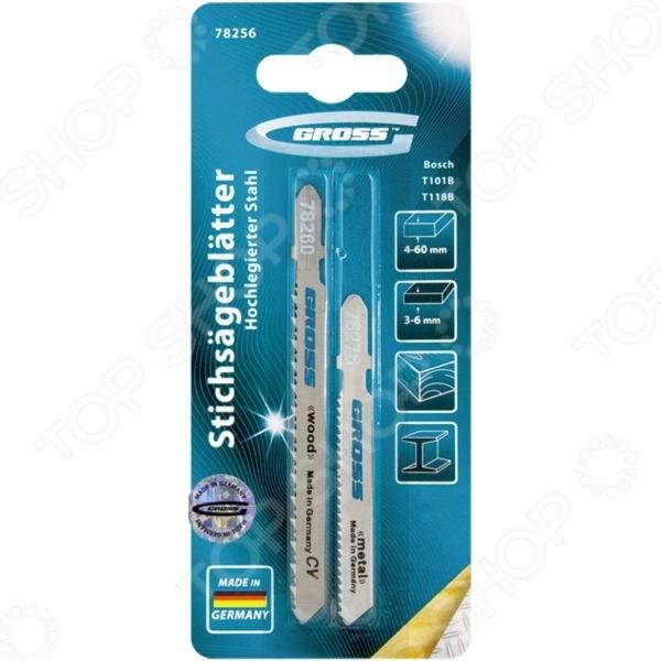 Пилки для электролобзика GROSS 78256 заклепочник усиленный gross 40409