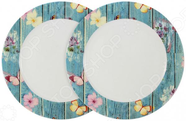 Набор тарелок Primavera «Фантазия» primavera набор обеденных тарелок акварель 2шт