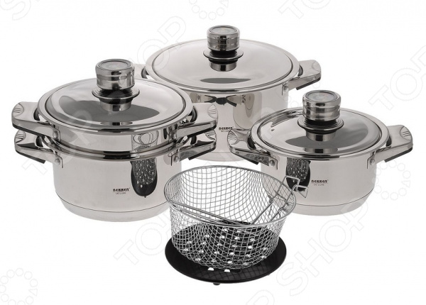 Набор посуды для готовки BK-2865 «Лучшая хозяйка»