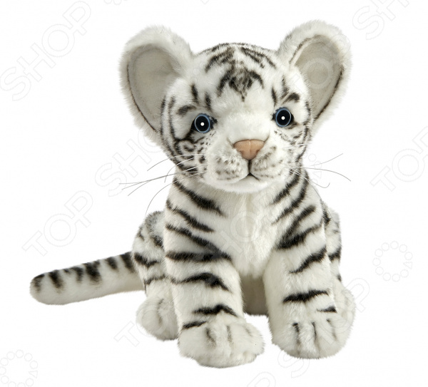 Мягкая игрушка Hansa «Белый тигренок»
