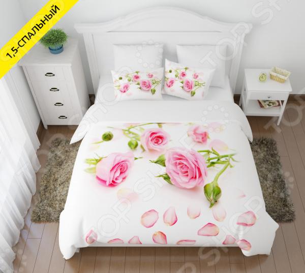 Zakazat.ru: Комплект постельного белья Сирень «Лепестки роз». 1,5-спальный