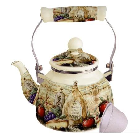 Купить Чайник эмалированный Kelli KL-4466