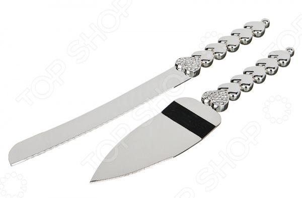 Набор для торта: нож и лопатка 363-417 лопатка для торта нерж сталь 1248918