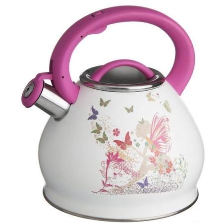 Купить Чайник со свистком и термо-рисунком Катунь «Бабочки»