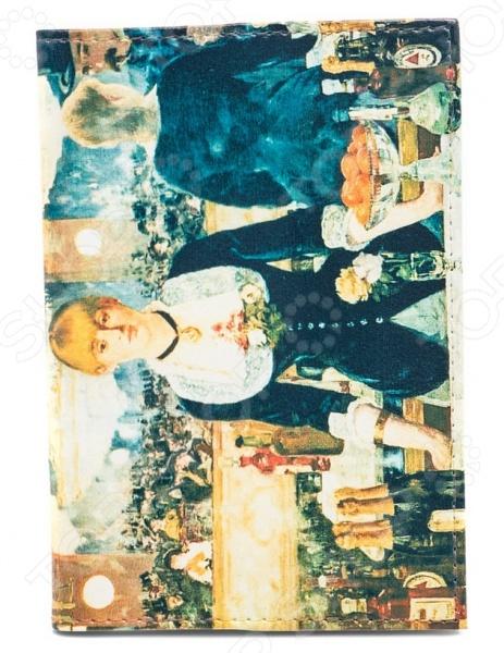 Обложка для автодокументов кожаная Mitya Veselkov «Э. Мане. Бар в Фоли-Бержер» фоли р как открыть бар для чайников