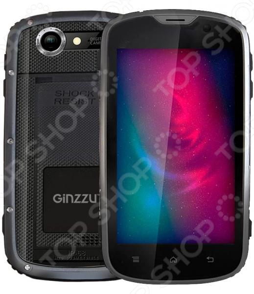 Смартфон защищенный Ginzzu RS71D 8Gb смартфон ginzzu rs71d черный r71db