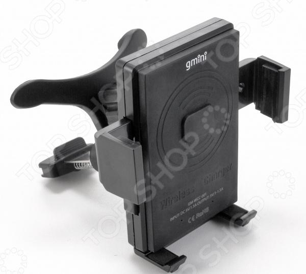 Устройство зарядное автомобильное Gmini GM-WCC-001 устройство зарядное автомобильное gmini gm mc 001 2usb