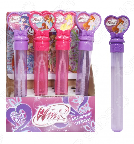 Мыльные пузыри 1 Toy Winx «Волшебная палочка» shenzhen волшебная палочка свет 668 1 б54295
