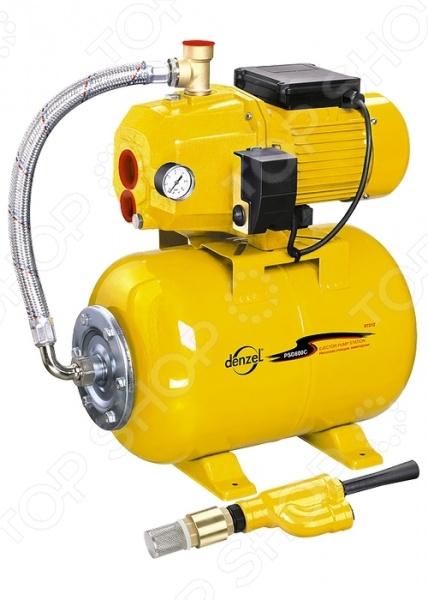 Насосная станция энжекторная Denzel PSD800C автоматическая станция водоснабжения вихрь асв 800 24н