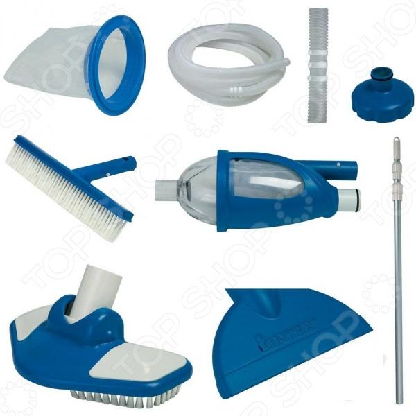 Набор для уборки бассейна Intex с выдвижной рукояткой «Люкс» цена