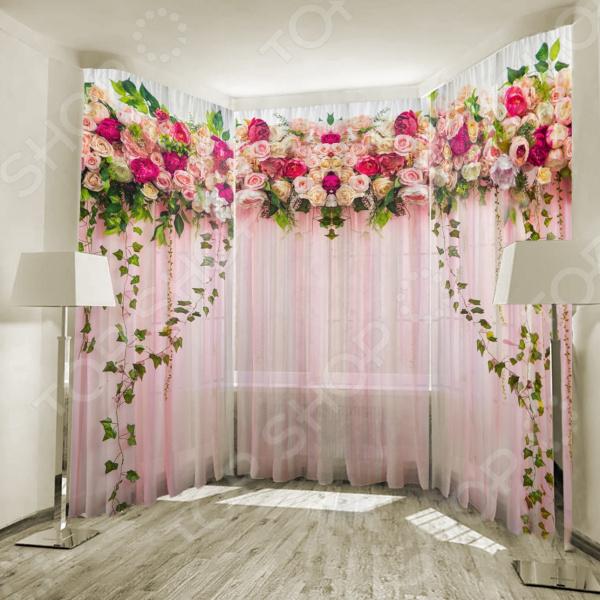 Фототюль ТамиТекс «Счастье роз» фототюль тамитекс хрусталь