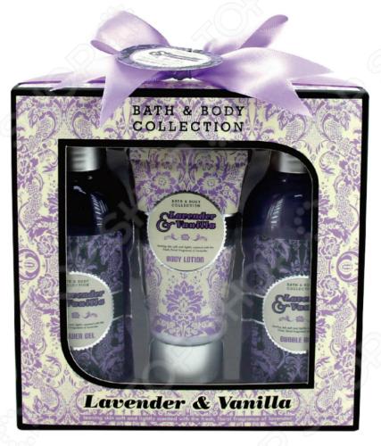 Косметический набор для ванны Laura Amatti «Масло лаванды»: 3 шт. 1