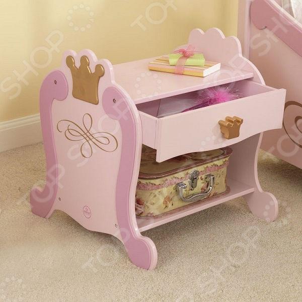 Стол детский прикроватный KidKraft «Принцесса» 2