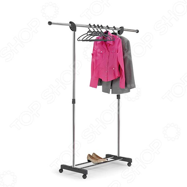 Вешалка для одежды напольная Gimi Paco Super вешалка для одежды tatkraft karta напольная цвет белый черный высота 173 см