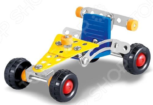 Конструктор металлический Built-Up Toys «Собираем. Машинка гоночная»