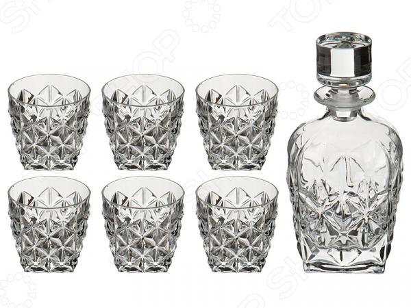 Набор для виски: кувшин и стаканы RCR «Энигма» 305-581 набор стаканов для воды rcr энигма 305 577