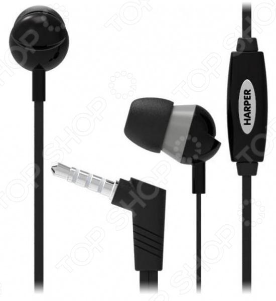 Наушники-вкладыши Harper HV-102 аудио наушники harper bluetooth наушники harper hb 207 black