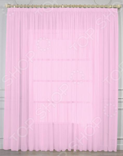 Тюль Amore Mio RR 2053. Цвет: розовый