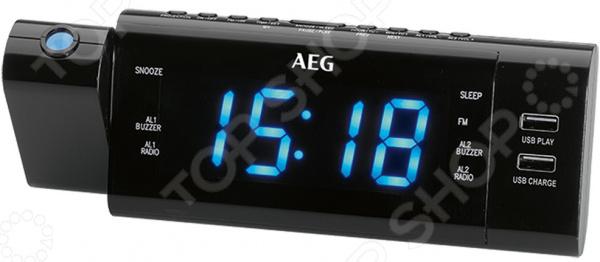 Радиочасы AEG MRC 4159 P