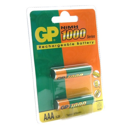 Набор батареек аккумуляторных GP Batteries 100AAAHC-2DECRC2