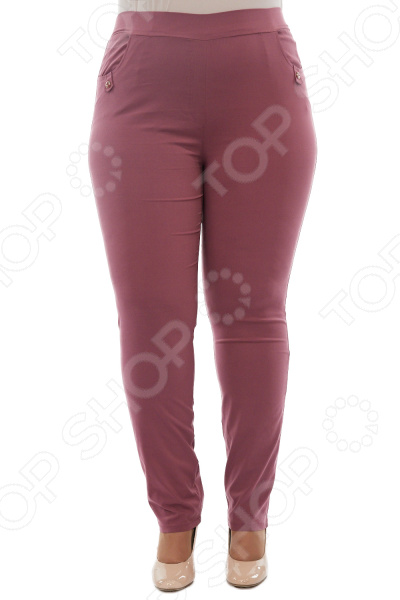 Брюки LORICCI «Сиена». Цвет: брусничный брюки loricci аскольд цвет капучино