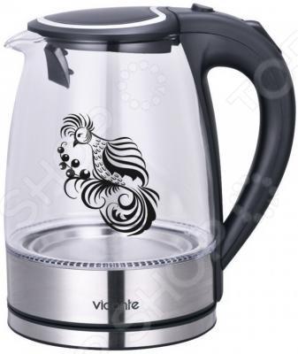 Чайник VC 3243.Корпус: термостойкое стекло