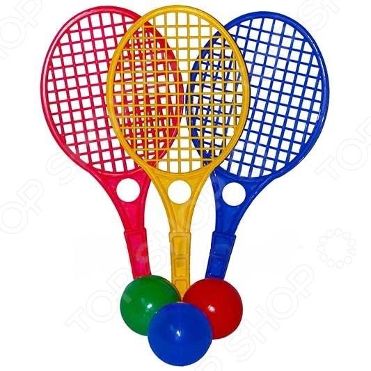 Набор для большого тенниса Action 7010. В ассортименте