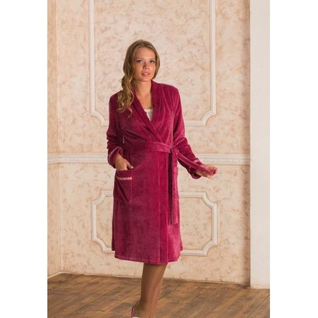 Купить Халат для беременных Nuova Vita 304.1. Цвет: розовый