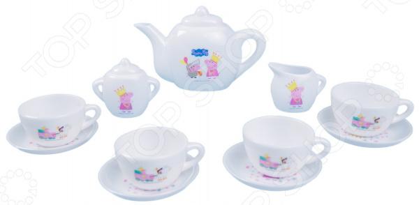 Набор посуды игрушечный Peppa Pig «Королевское чаепитие»