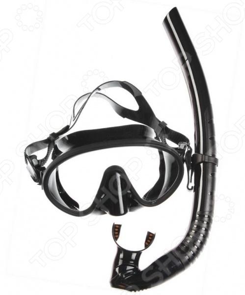 цена Набор из маски и трубки WAWE MS-1328S66