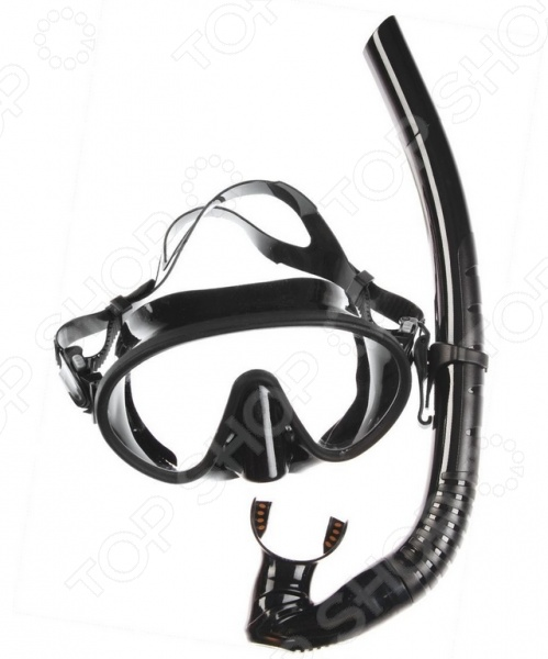 Набор из маски и трубки WAWE MS-1328S66 недорго, оригинальная цена