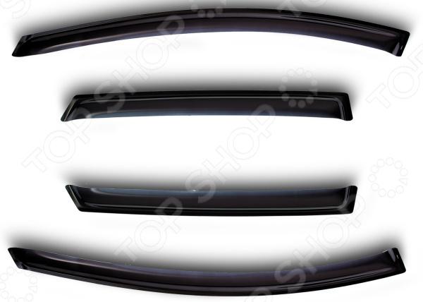 Дефлекторы окон SIM Renault Sandero, 2009-2014, хэтчбек аксессуары