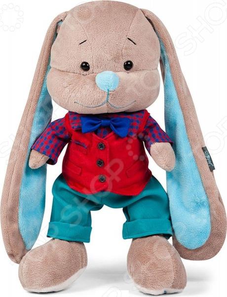 Мягкая игрушка Jack & Lin «Зайчик Жак. Стиляга в жилетке» мягкие игрушки maxitoys зайчик жак с букетом