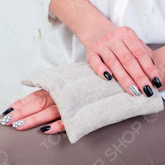 Подушка-грелка с семенами льна «Комфорт-Мини»