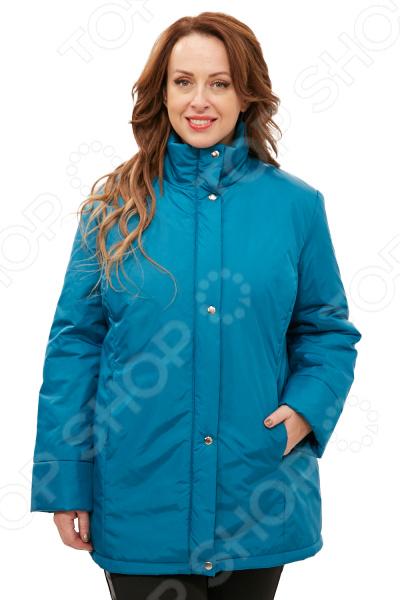 Куртка СВМ-ПРИНТ «Тепло на двоих». Цвет: бирюзовый